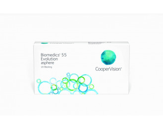 Cooper Vision Biomedics 55 Evolution UV 6pk
