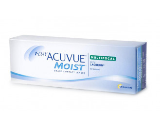 Acuvue 1-Day Acuvue  Moist Multifocal